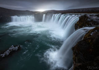 Iceland, Waterfall, Northern Iceland, Godafoss