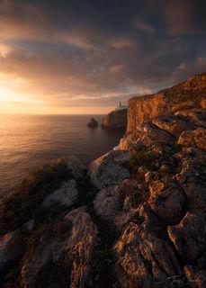 Sagres, Lighthouse, Cabo de São Vicente, Algarve, Portugal