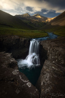 Iceland, mountains, mountain, southern iceland, iceland, waterfall