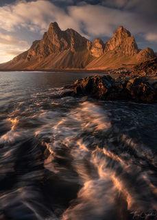 Eystrahorn, mountain, north atlantic, iceland