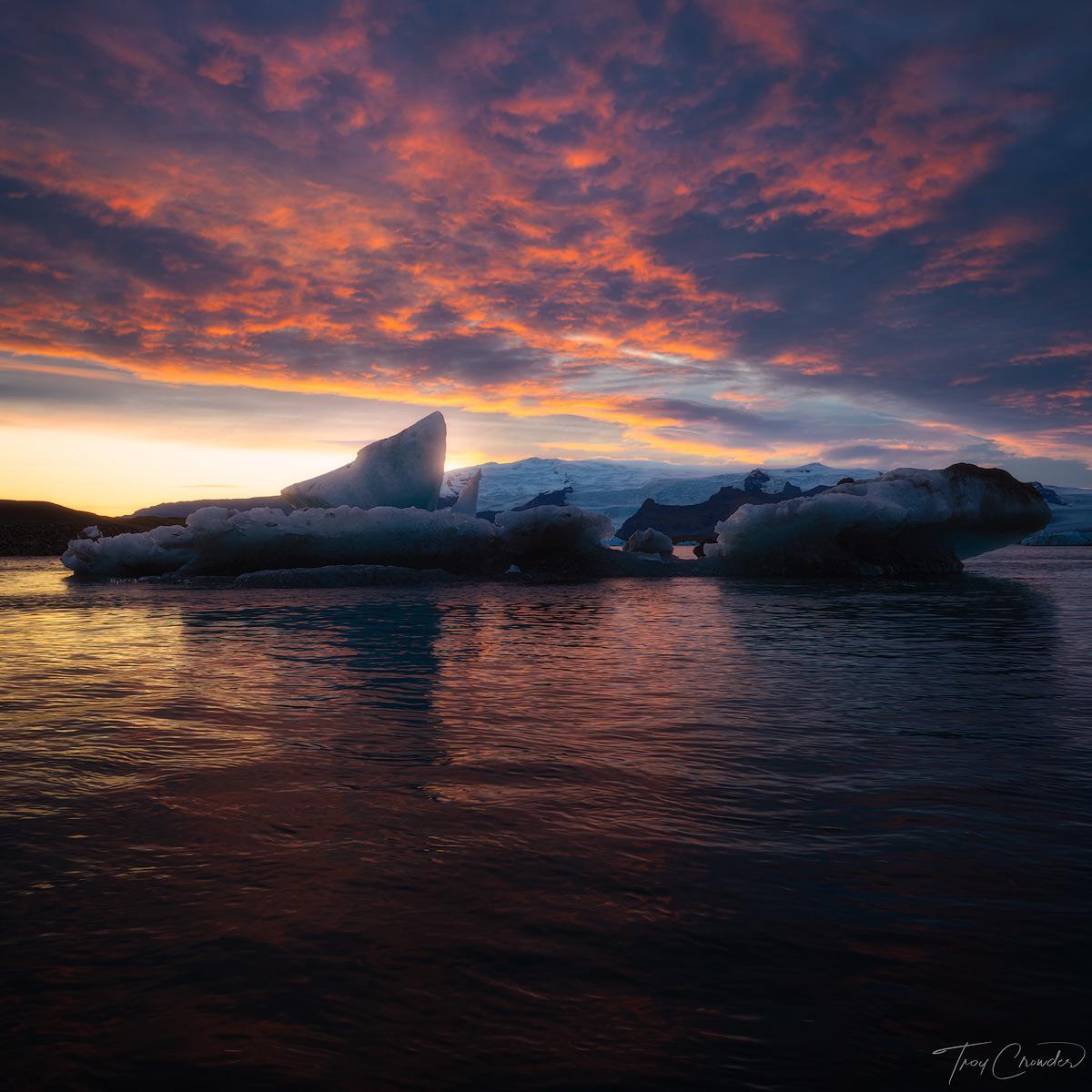 Glaicer, Ice, Glacial Ice, Jökulsárlón, Lagoon, sea, North atlantic, photo