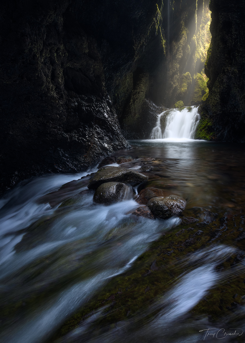 Iceland, southern, hike, canyon, waterfall, photo