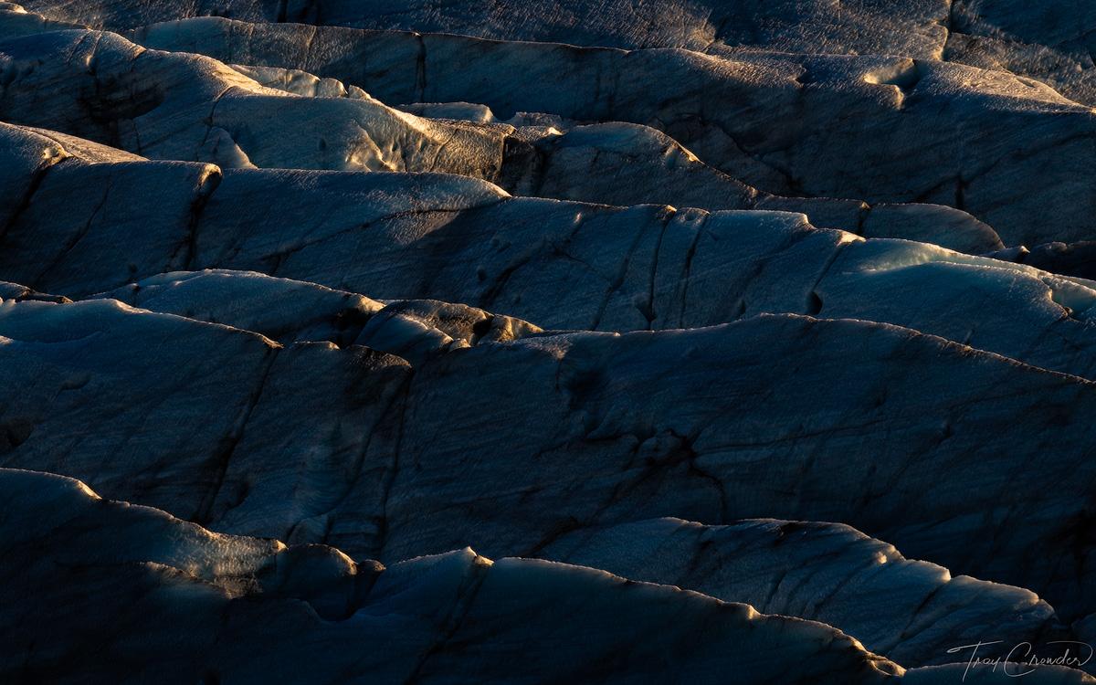 glacier, ice, Svínafelljökull, coalesce, iceland, southern iceland, , photo