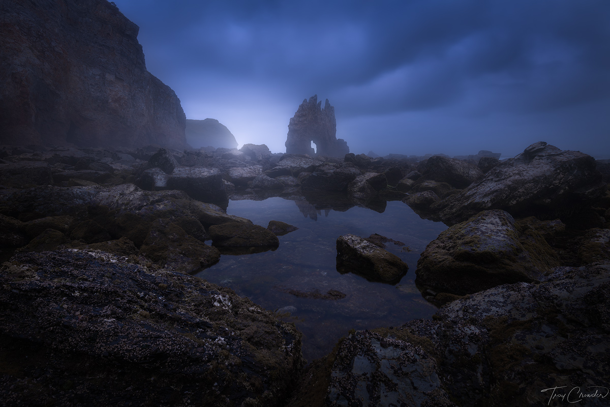 dark, mysterious, northern coast, spain, asturias, photo
