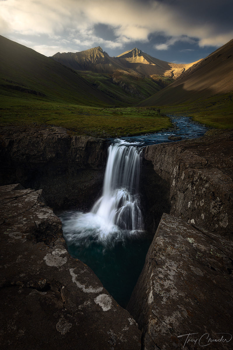 Iceland, mountains, mountain, southern iceland, iceland, waterfall, photo